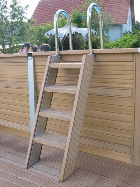 piscine zodiac le must de la piscine bois composite. Black Bedroom Furniture Sets. Home Design Ideas