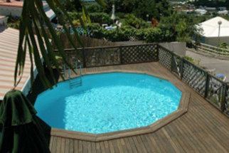 Les kits piscine hors sol en bois durapin ma va 500 for Piscine enterrable