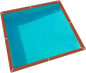 Piscine enterr e zodiac azteck carr e un kit monter soi for Accessoire piscine enterree