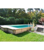 piscine bois composite azteck magasin piscine zodiac. Black Bedroom Furniture Sets. Home Design Ideas