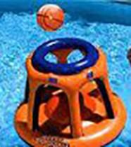 Panier de basket flottant pour piscine